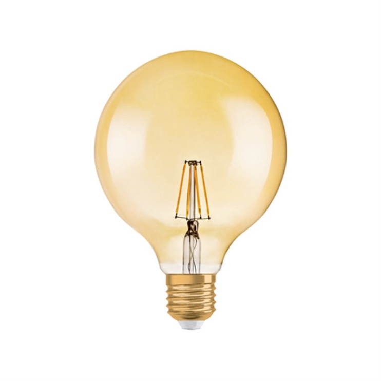 Led lamp Osram G125, 7W, E27, 2500K,  725lm