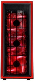 SilverStone Midle Tower Red/Black