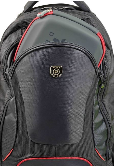 Port Designs Notebook Backpack Courchevel 17.3'' Black