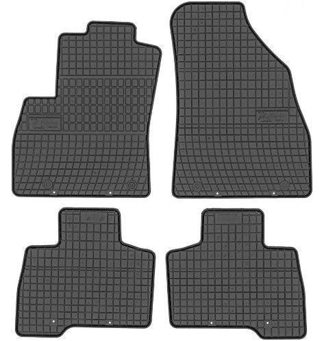 Резиновый автомобильный коврик Frogum Citroen Nemo / Fiat Fiorino / Peugeot Bipper, 4 шт.