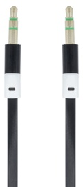 Forever Audio 3.5mm To 3.5mm AUX Cable 90cm Black