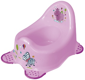 Naktipuodis Keeeper Baby Steady Potty Hippo Lilac,