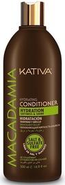 Plaukų kondicionierius Kativa Macadamia Hydration Conditioner, 500 ml