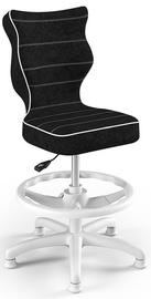 Entelo Petit Black HC+F Size 4 Children Chair VS01 White/Black