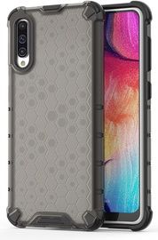 Hurtel Honeycomb Armor Back Case For Samsung Galaxy A50 Black