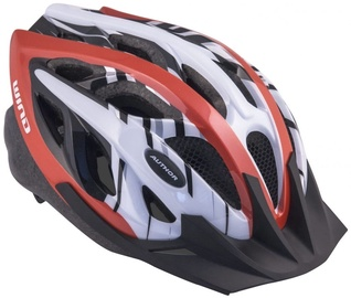 Author Wind Helmet Red White 58 62