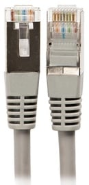 A-Lan Patch Cable STP CAT6a 0.5m Grey