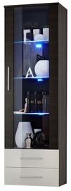 ASM Neo I Display Cabinet Wenge w/ White Drawers