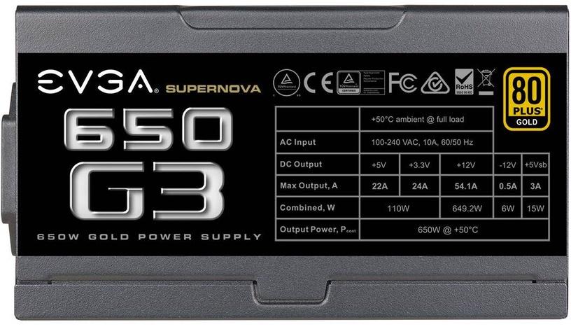 EVGA SuperNova G3 650W 220-G3-0650-Y1