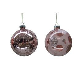 Eglutės žaisliukas Christmas Touch EBD94D043/EBD94D886 Pink, 4 vnt.