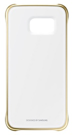 Samsung Clear Cover For G920 Galaxy S6 Gold