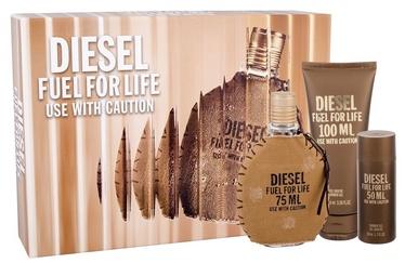 Diesel Fuel For Life 75ml EDT + 50ml Shower Gel + 100ml Shower Gel
