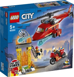 KONS LEGO CITY FIRE PÄÄSTJA KOPTER 60281