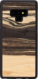 Man&Wood White Ebony Back Case For Samsung Galaxy Note 9 Black