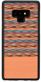 Man&Wood Browny Check Back Case For Samsung Galaxy Note 9 Black/Brown