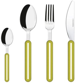 ViceVersa Offset Cutlery Set 24 Green