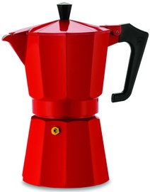 Pezzetti Italexpress Espresso Coffee Maker Red 6 Cups