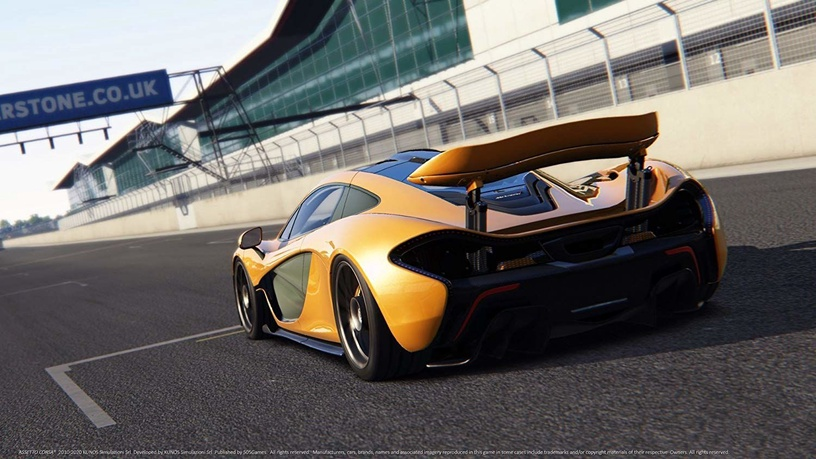 Assetto Corsa: Your Racing Simulator Ultimate Edition PS4