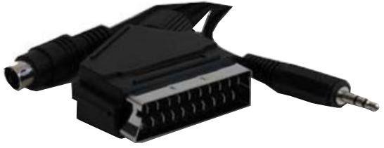 Gembird Cable Scart / Video+Audio 10m Black