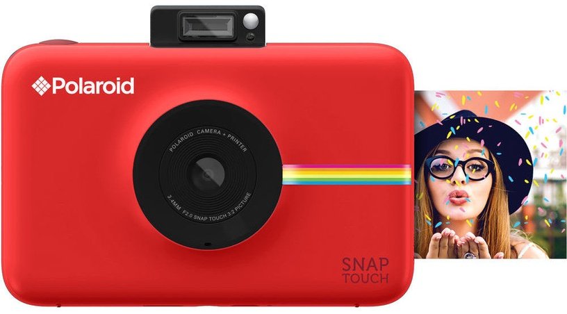 Polaroid Snap Touch Instant Digital Camera Red