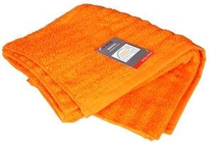 Verners Frotee Lines Pattern 50x100cm Orange