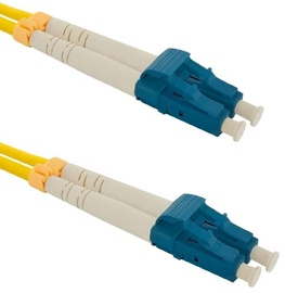 Qoltec LC-LC Optic Patch Cable Yellow 5m