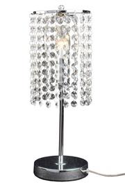 Light Prestige Bright Star Table Lamp E27 60W Silver