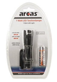 Taskulamp Arcas 1W cree LED 100lm + 1xAA patarei