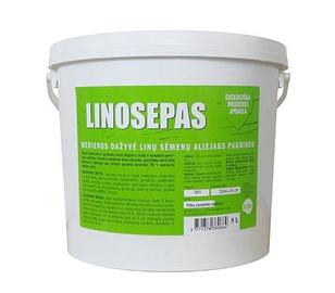 Linų sėmenų aliejaus dažai Asepas Linosepas, bespalvis, 5 l