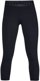 Under Armour Favorite Mesh Crop Leggings 1329317-001 Black M