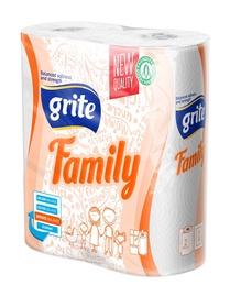 Popierinis rankšluostis Grite family, 2 sl., 2 rulon.