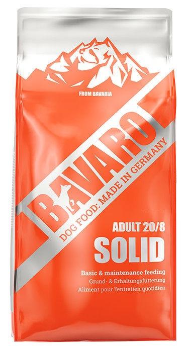 Sausas ėdalas šunims Bavaro Solid, 18 kg