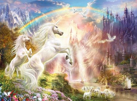 Puzle Clementoni Sunset Unicorns 35054, 500 gab.