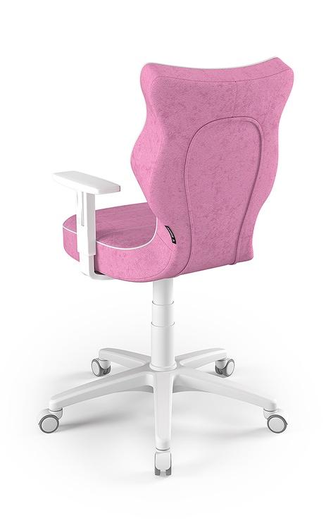 Детский стул Entelo Duo Size 6 VS08, белый/розовый, 400 мм x 1045 мм