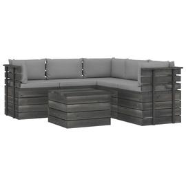 Комплект уличной мебели VLX Lounge Set 3061900, серый, 1-4 места