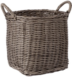 Home4you Basket Ruby-3 33x33x32cm Brown