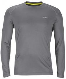 Футболка с длинными рукавами Marmot Mens Long Sleeve Shirt Windridge Cinder XXL