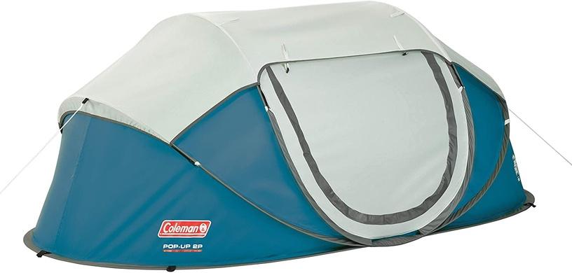 Divvietīga telts Coleman Galiano 2 2000035212, zila