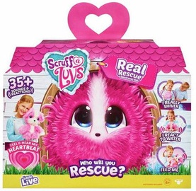 Interaktyvus žaislas Moose Scruff A Luvs Real Rescue Pink Scruff
