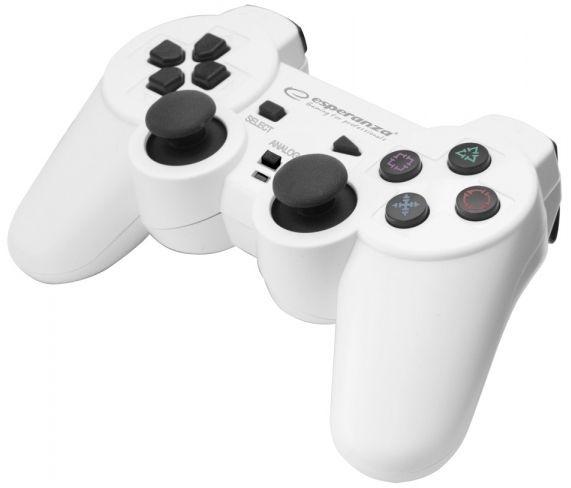 Esperanza Trooper USB Gamepad White/Black