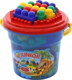 Wader Blocks Junior In The Bucket 57pcs 31853