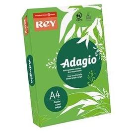 Копировальная бумага А4, 500 листов, зеленая, Adagio