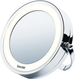 Peegel Beurer BS 59 Chrome, valgustusega, teisaldatav, 11x11 cm