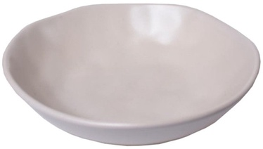 Bradley Ceramic Plate Organic 22cm White