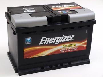 Akumuliatorius Energizer Premium EM77L3, 12 V, 77 Ah, 780 A