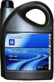 GM Genuine 10W40 Motor Oil 5L