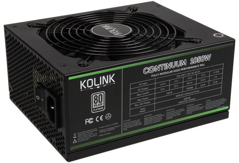 Kolink Continuum Series PSU 1050W