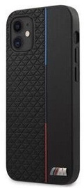 BMW Triangles Tricolor Line Back Case For Apple iPhone 12 Mini Black