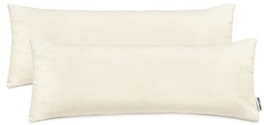 DecoKing Amber Pillowcase 40x145 Cream 2pcs