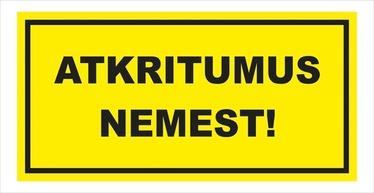 NORĀDE ATKRITUMUS NEMEST 16X32CM